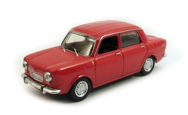 BEST - Simca 1150 Abarth Rouge  - 1963 - BES9476 -