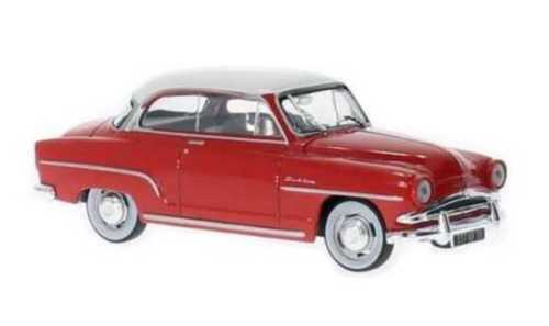 WHITEBOX - Simca Aronde Grand Large Rouge/Blanc 1953 - WHT111 -