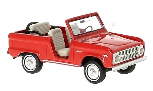 NEO - Ford Bronco Roadster Rouge - 1966  - NEO47210