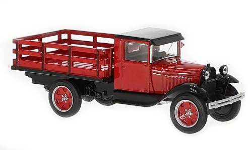 WHITEBOX - Ford AA Platform Truck Rouge - 1928 - WHT290 -