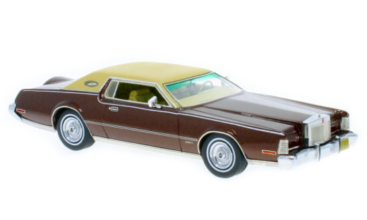 Neo_Lincoln_Continentale_MK_IV_Marron_Metallise_-_1973